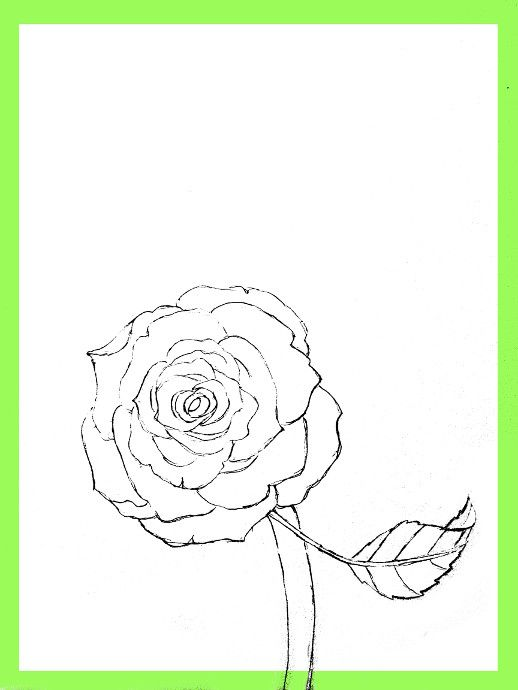 How To Draw Roses Happy Family Art In 2020 Roses Drawing Flower Drawing Easy Drawings