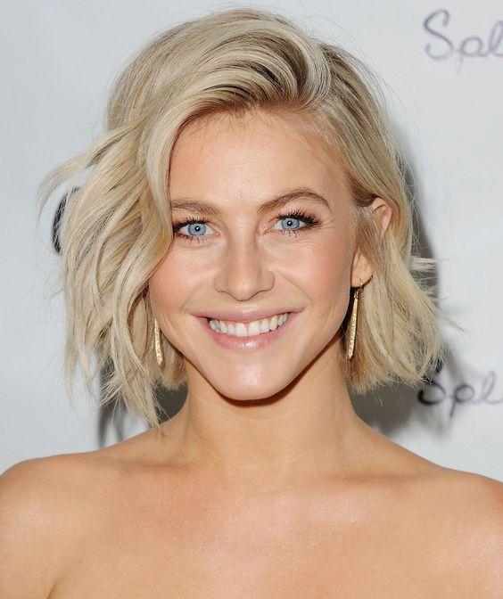 Tremendous Julianne Hough Hair And Hottest Female Celebrities On Pinterest Short Hairstyles For Black Women Fulllsitofus