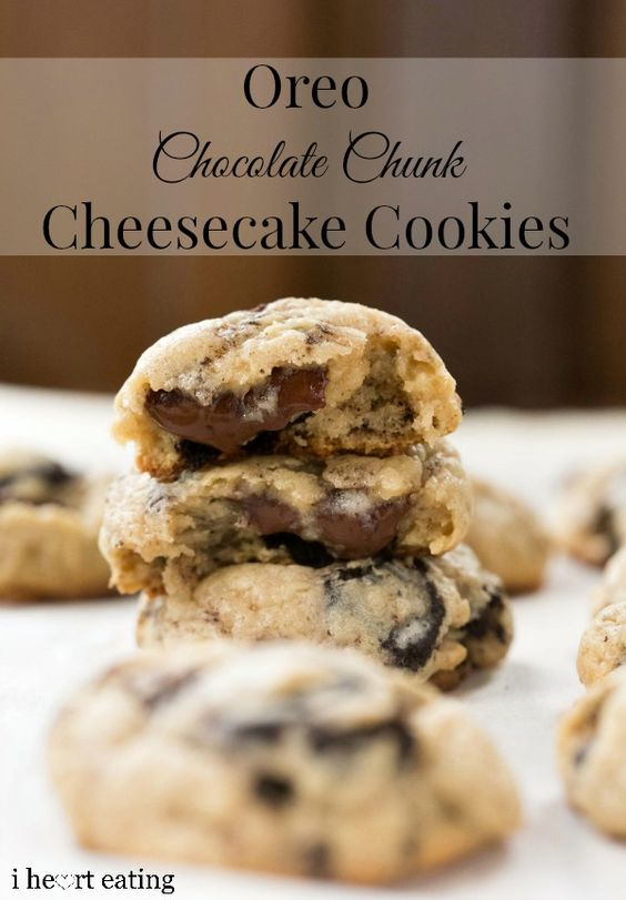 Candy Cane Oreo Chocolate Chunk Cookies Recipe — Dishmaps
