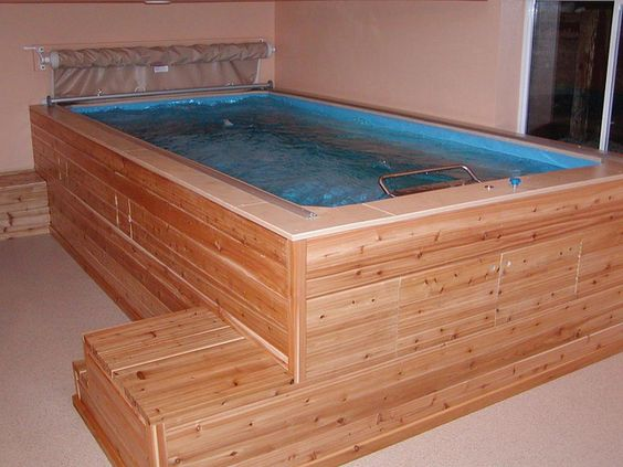 Endless pools pools and in the basement on pinterest for Endless pool in basement