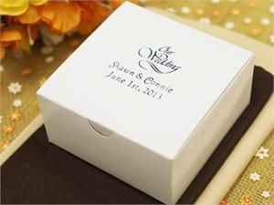 Only 36.99 for 100! Which includes personalization on the box. GREAT DEAL ! No need for 200 not everyone is going to take cake home. I think 100 is enough is you choose cake. love mom