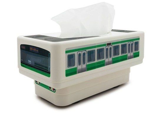 Remote Controlled Tissue Box Train | 23 Products For Anyone Who's Feeling Stressed Out