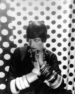 Nancy Cunard: very early influence!