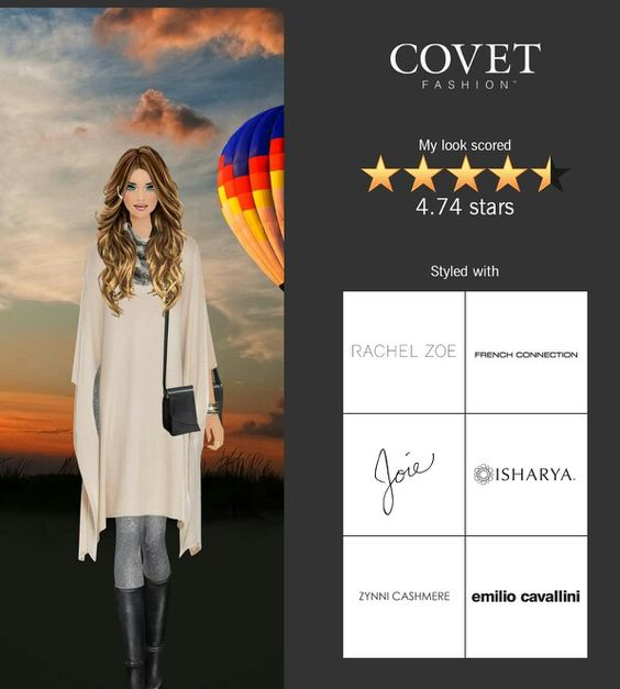 Hot Air Balloon Ride #covetfashion