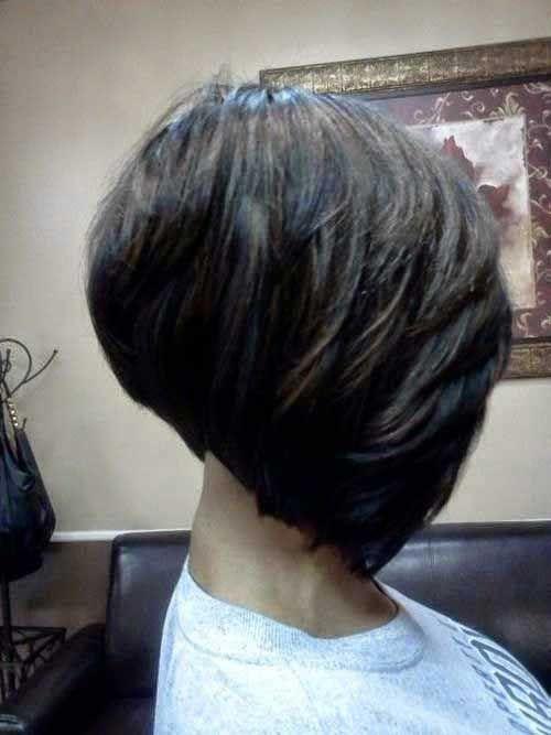 10 Layered Bob Hairstyles For Black Women Black Bob Forblackwomen Hairstyles Layered Women Haarschnitt Bob Bob Frisur Und Frisuren