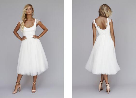 Robe de mariée courte Rime Arodaky 2013 modèle Nina - Crédit photos ...
