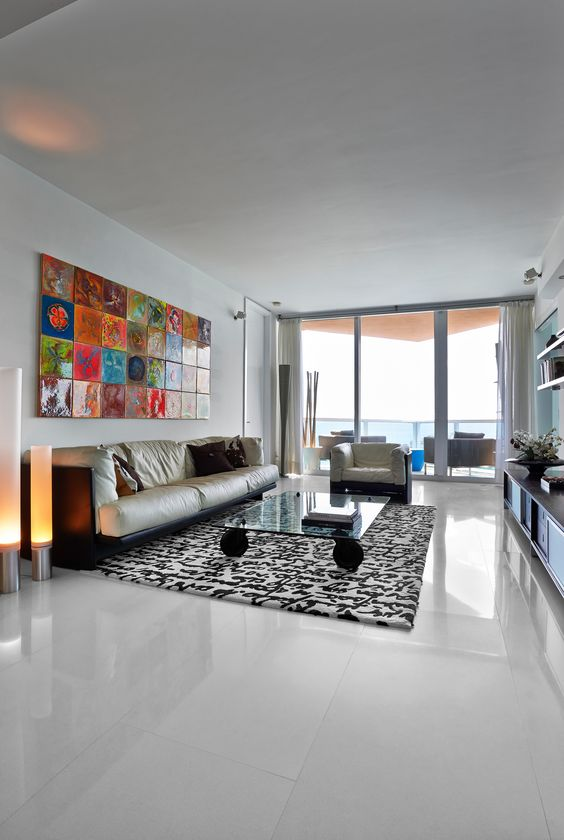 This gorgeous #Miami apartment was completely #transformed! #HomeRemodel