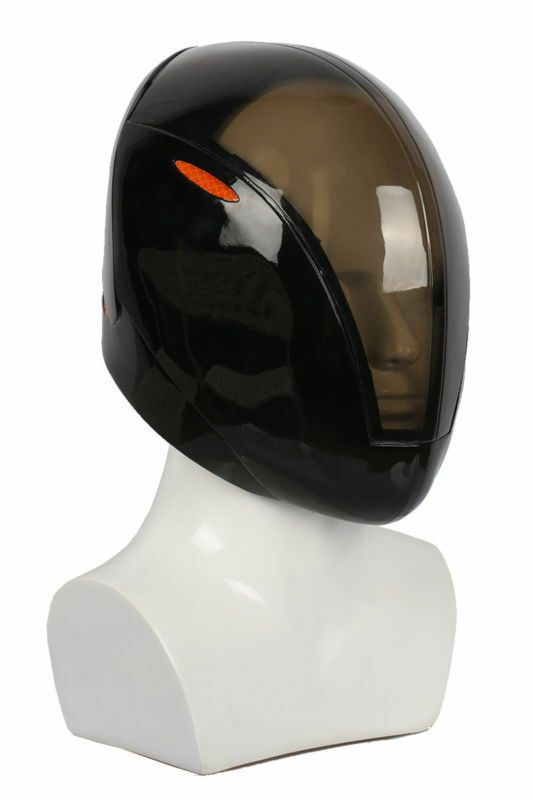 Tron Rinzler Cosplay Helmet Resin Full Head Mask Costume Props Game Black Movie
