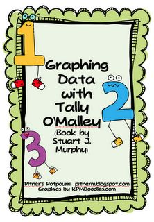 Tally O'Malley is one of my favorite characters. Let your students use the data from the story to create a bar graph, pictograph, or line plot. They write questions based on the data and share them with a friend