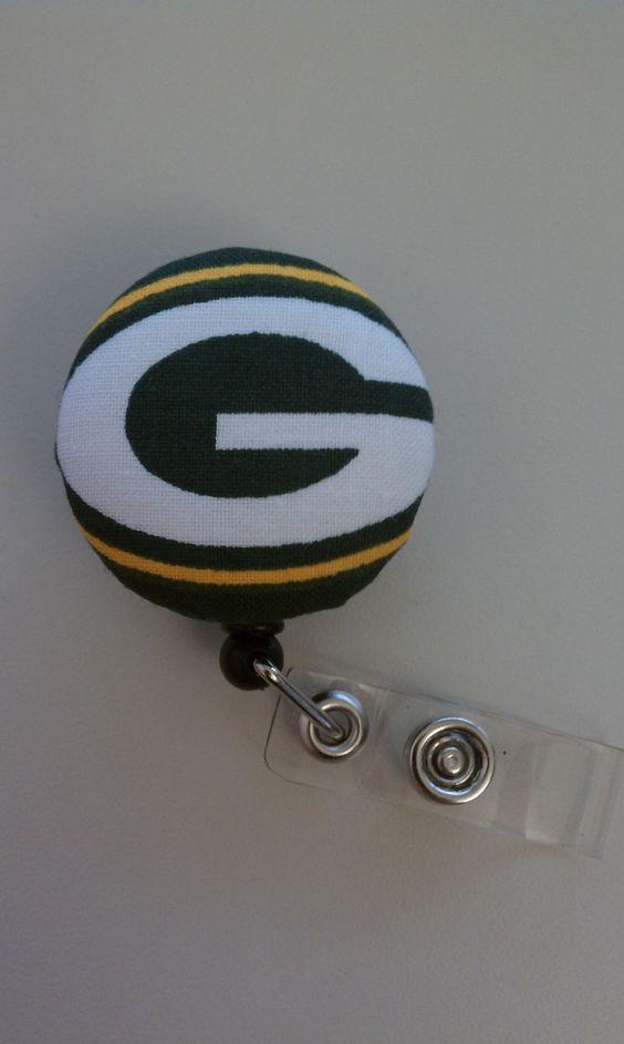 Green Bay badge reel