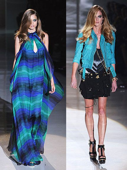 Frida Giannini, Gucci's designer, with her Spring/Summer 2009 collection looks confident in the persistent  fan-base.