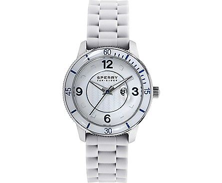 Sperry Top-Sider Silicone Strap Link Watch