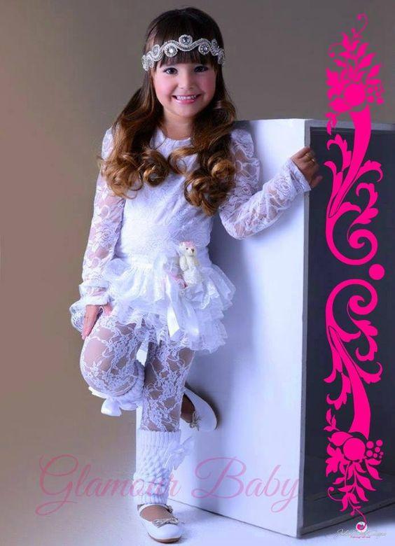 Vestido Renda Branco 179,00 ate 6 anos <br>Legguing cores variadas 65,00 <br> <br>*Consulte Tam maiores