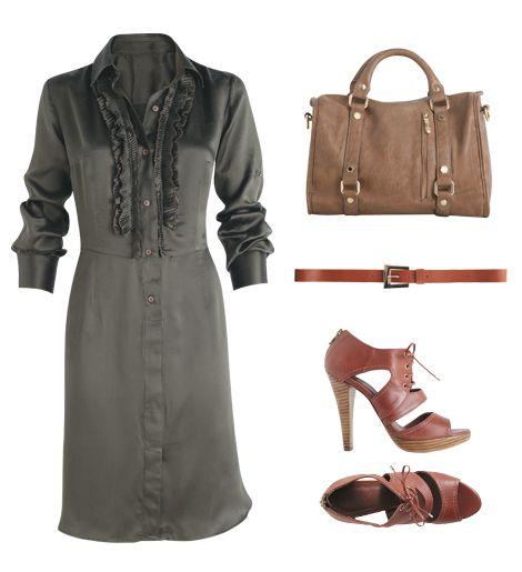 Complete Look - pear shape - work wardrobe - Manequim - Editora Abril