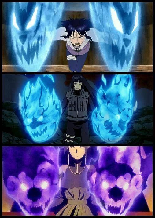 Evolution of Hinata's power