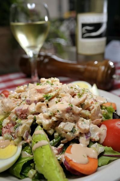 ... Salad, with Louie Dressing || Daddy Jack's Lobster & Chowder House