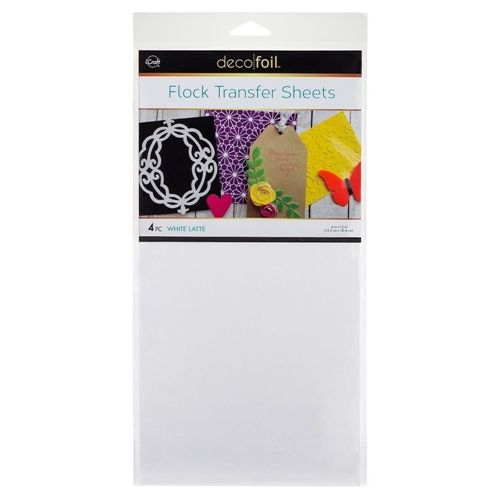 Therm O Web White Latte Flock Transfer Sheets Deco Foil 5540 In