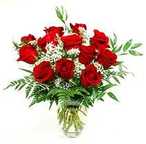 Rose Bouquet - Red - 1 Dozen Holiday Headquarters