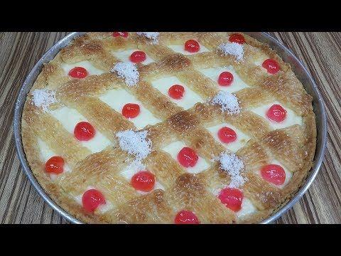 اللينزا الدمياطى على اصولها احلى واغلى انواع الحلويات حلويات رمضان Youtube Food Desserts Pie