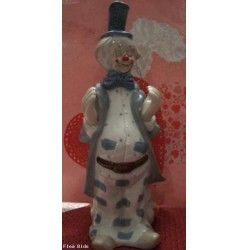VINTAGE clapping Circus Clown Comedy & Tragedy (Auction ID: 133718, End Time : N/A) - FleaBids Auction House