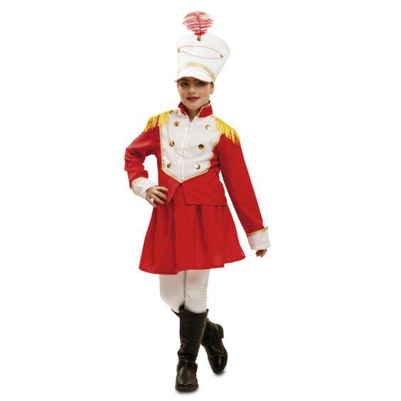 Déguisement Majorette Blanche #déguisementsenfants #costumespetitsenfants