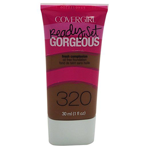 Covergirl Ready Set Gorgeous Foundation Soft Sable 320 1 Oz