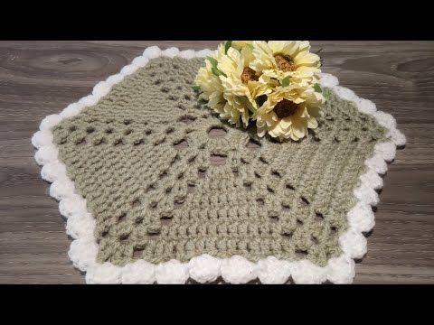 Centrino Uncinetto Facile Tutorial Doily Crochet Centro De Mesa Crochet Youtube Uncinetto Facile Uncinetto Lavoro All Uncinetto
