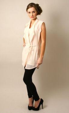 Yuki Tokyo SalE IteM  Ruffle Waistcoat Beige - £20.00 : Yuki Tokyo, Online Fashion Store