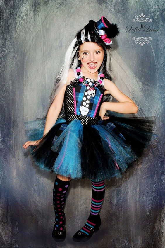 Frankie Stein inspired costume from by SofiasCoutureDesigns, $69.00