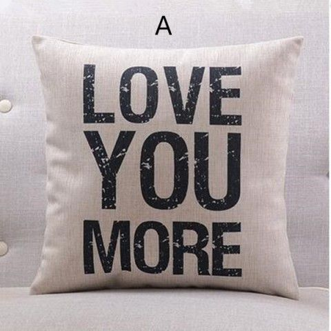 Love You More Throw Pillows With Sayings Follow Your Heart Quote Pillows Vintage Throw Pillows Throw Pillows Patterned Throw Pillows