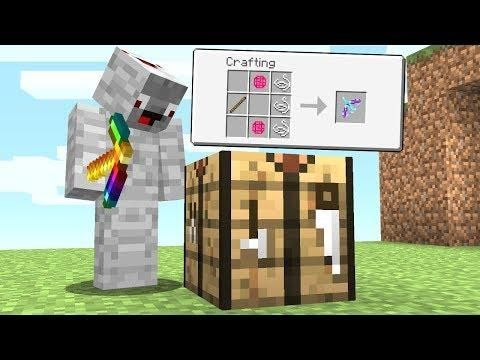 Ich Crafte Heimlich Den 7 777 Op Bogen Minecraft Lucky Block Bedwars Minecraft Heimlich Blocks