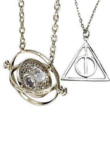 Harry Potter. Hermione Granger argent ton Horcruxe tourner retourneur de temps et d'or filer Collier Reliques de la Mort Orion Creations http://www.amazon.fr/dp/B00MV1LP96/ref=cm_sw_r_pi_dp_0ICyub00MTYW9