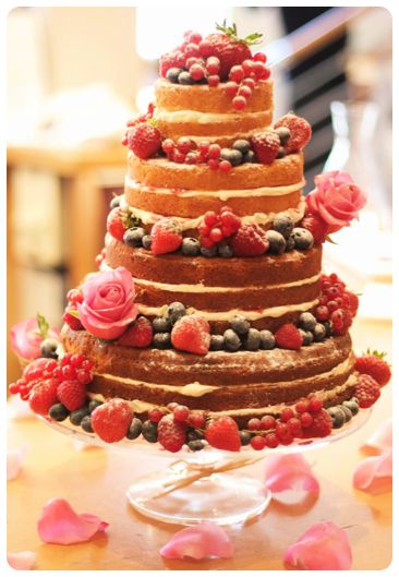 Making a tiered sponge wedding cake