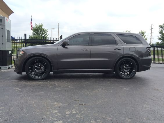 2014 dodge durango r t 22 lorenzo wheels eibach lowering springs murdered out nice ride. Black Bedroom Furniture Sets. Home Design Ideas