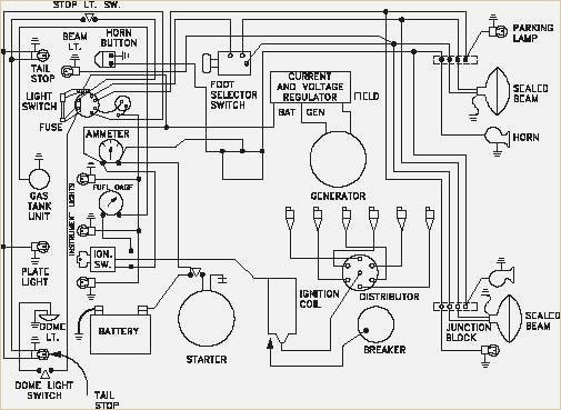 Figure 11 Wiring Diagram Of A Car S Electrical Circuit Electrical Diagram Electrical Wiring Diagram Electrical Circuit Diagram