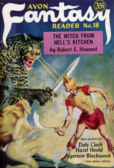 Avon Fantasy Reader nº 18
