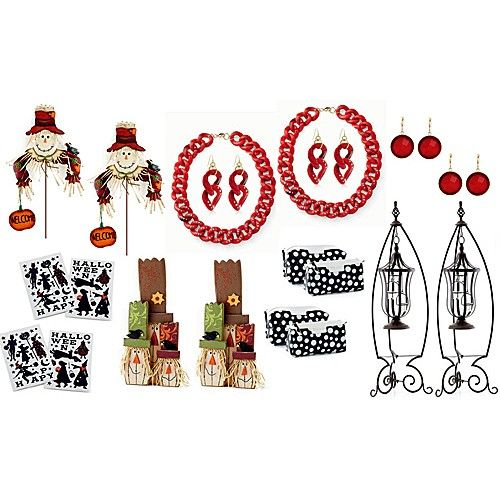 Awesome bundle that includes fall decor, jewelry, lantern and stands, and more!