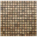 Wood Mosaic Tile - Chocolate Oak - Square  EMT_WOD-COVC-SQ $14