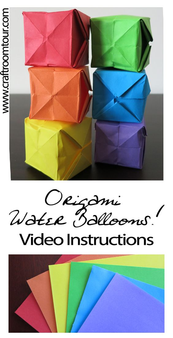Origami Water Balloon | Clever PAPER Crafts | Pinterest ... - photo#9