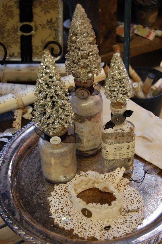 A new twist on bottle brush trees.