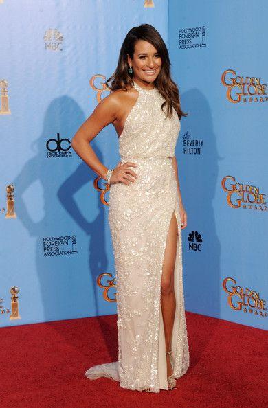 Lea Michele - 70th Annual Golden Globe Awards - Press Room