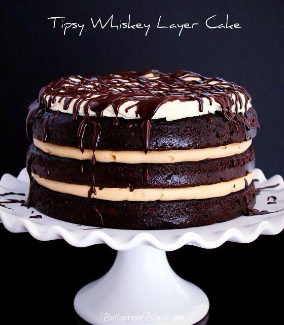 Chocolate Whiskey Cake Mix