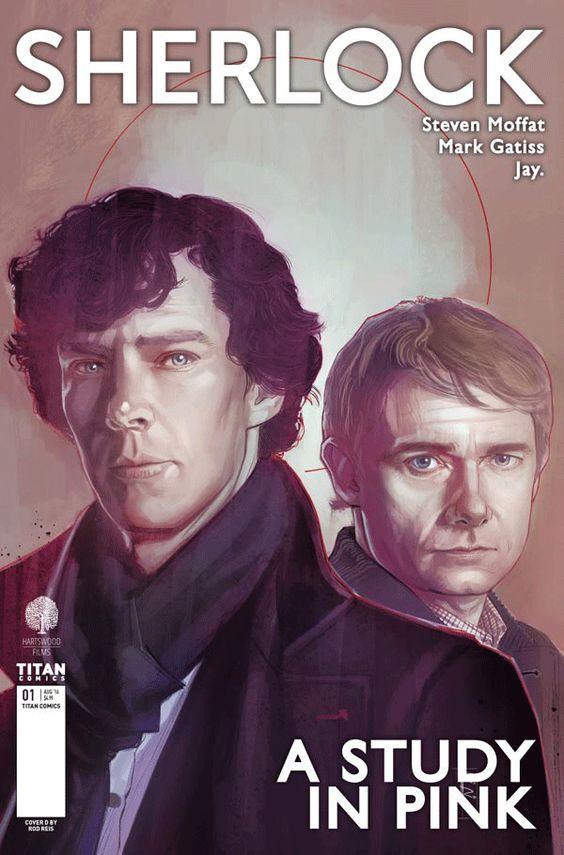 'Sherlock': ¿Conocías el manga que adapta la serie de Benedict Cumberbatch? - Noticias de series - SensaCine.com
