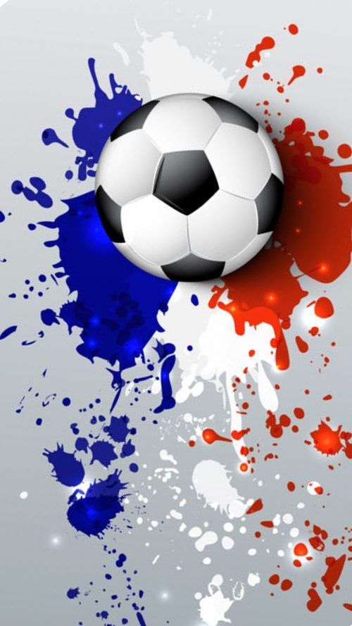 Soccer Wallpaper With Abstract France Flag Colors Hd Wallpapers Wallpapers Download High Resolution Wallpapers Soccer Football Wallpaper Soccer Backgrounds