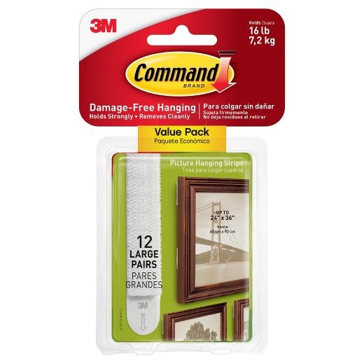 <p>Get your holiday photos hung up quickly and easily with the 3M Command Large Picture Hanging Wall Hooks Value Pack. These strong hooks are perfect for picture hanging and can hold up to 4 pounds per set. They remove cleanly, keeping your walls free from stickiness, scuffs and unnecessary holes. Pictures lock securely in place for a clean, finished look and the hooks work on a variety of surfaces. In stores only.</p>
