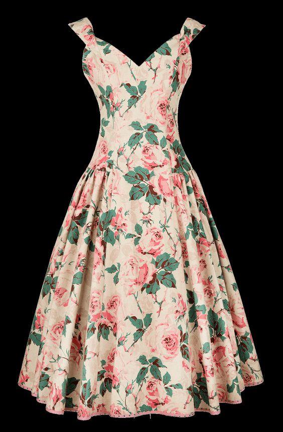 Lena Hoschek rose dress~ - interesting clothes - Pinterest ...