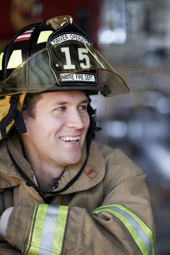 Firefighter Story on STELLER portraits of our heroes before and after call of duty. Thank you for your service