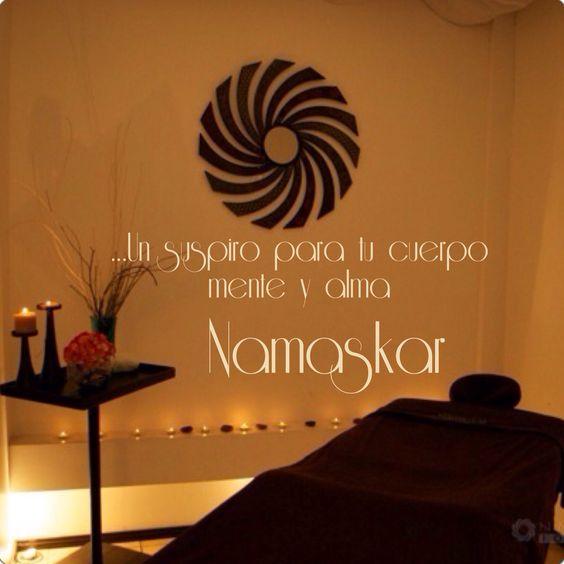 Un masaje, un suspiro, regalate un espacio aquí en Namaskar.