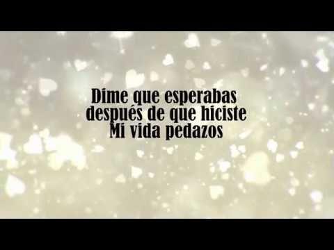 Que Esperabas Erika Vidrio Letra Youtube Canciones Letras Musica