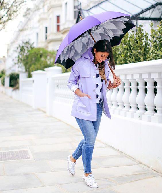 Violeta + Lluvia